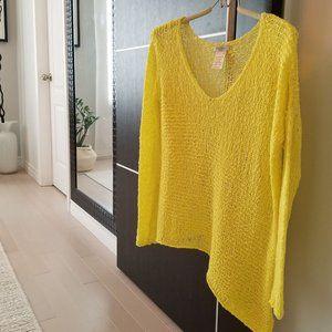 Aritzia Talula Open Knit Sweater